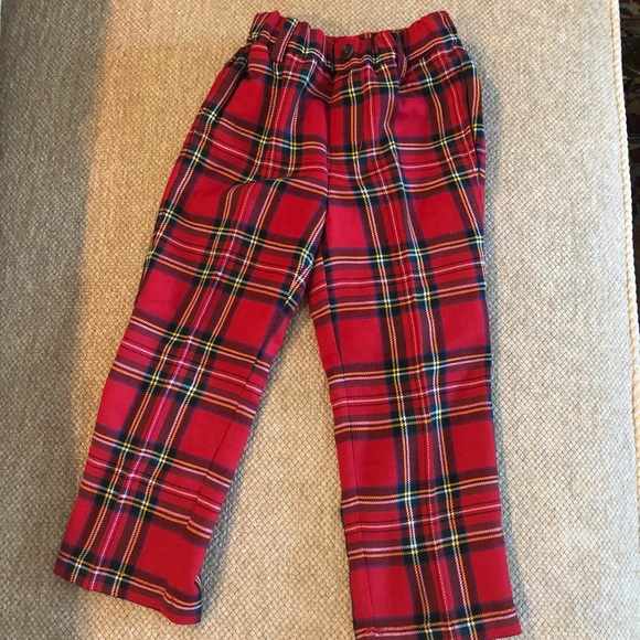 E.LAND KIDS Tartan Legging